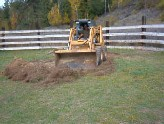 Grading the corral
